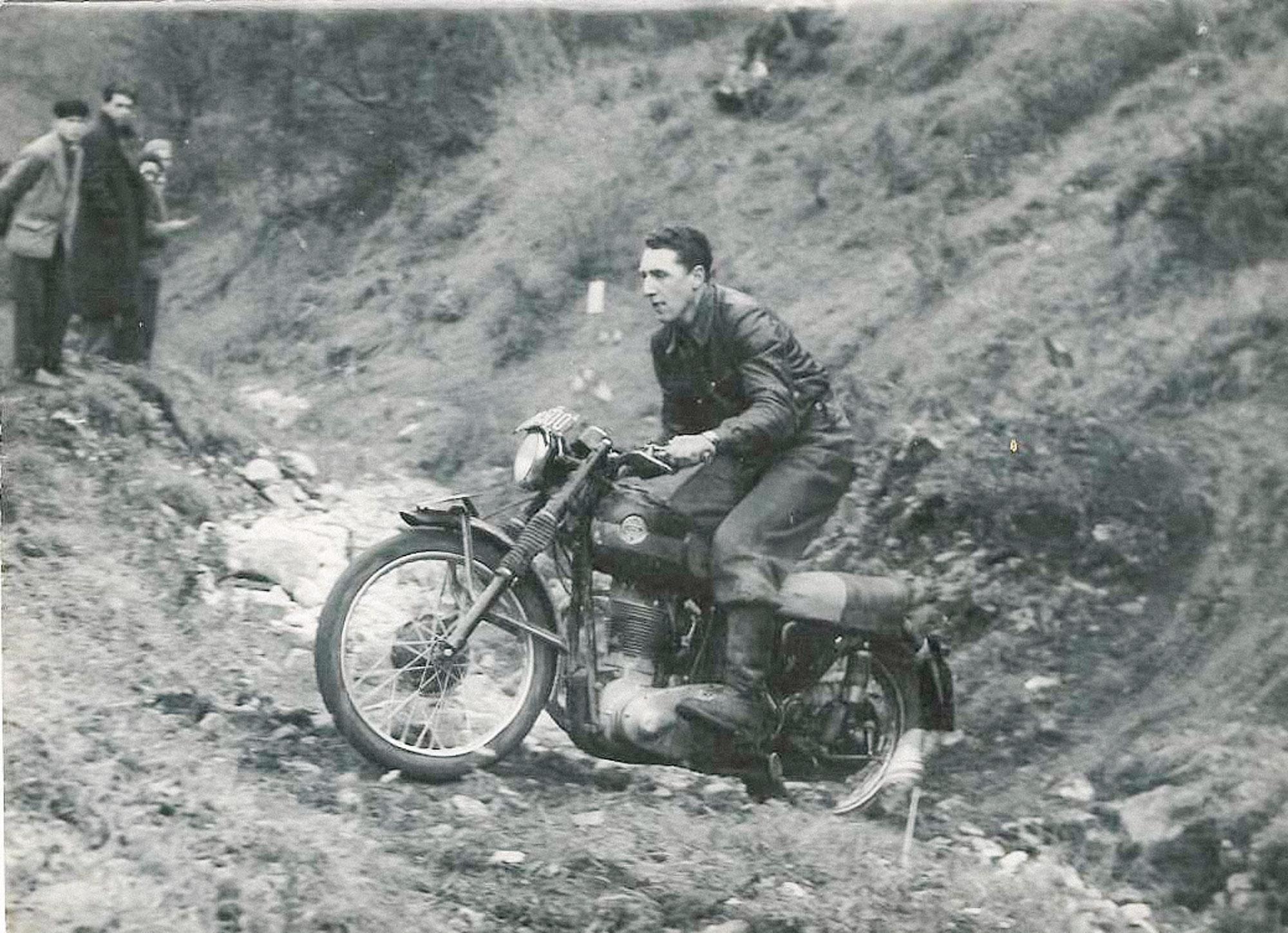 Einer der ersten Bewerbe in den 1950ern, die Opa Ernst bestritt.